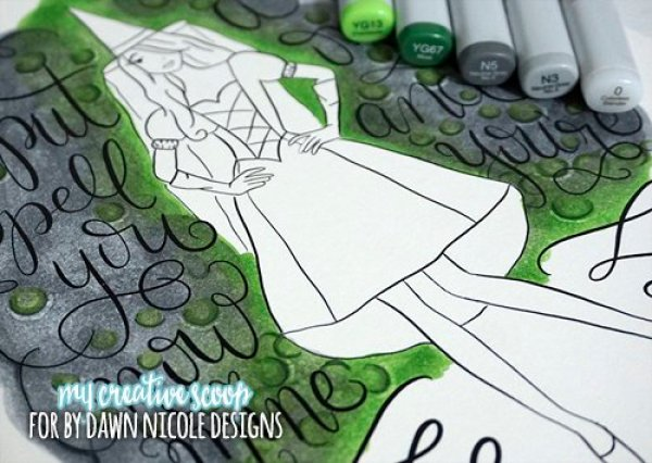 8 Copic Marker Tutorials with Free Printable Coloring Pages!