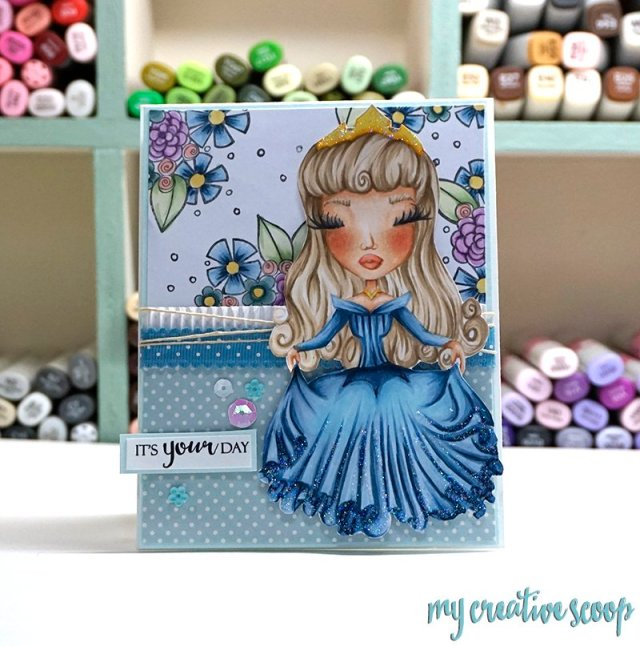 Create your own Patterned Paper using Copic Markers