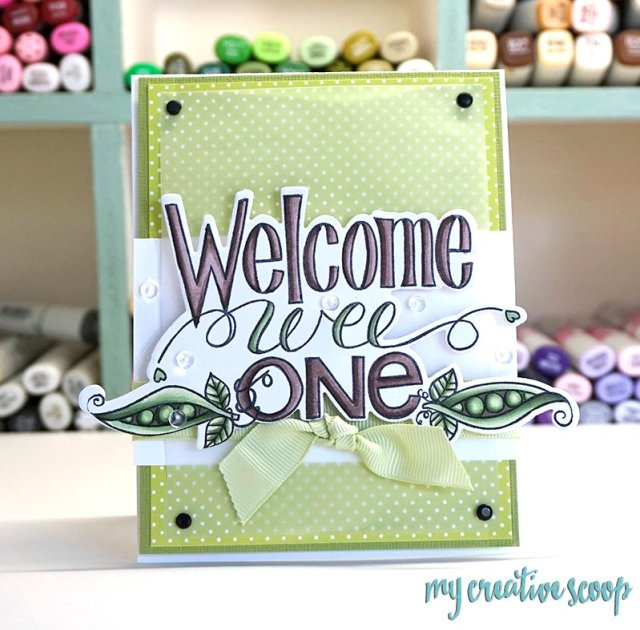 Welcome Baby Copic Marker Color Combo