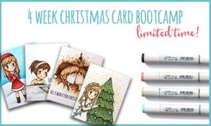 4 Week Online Christmas Card Boot Camp