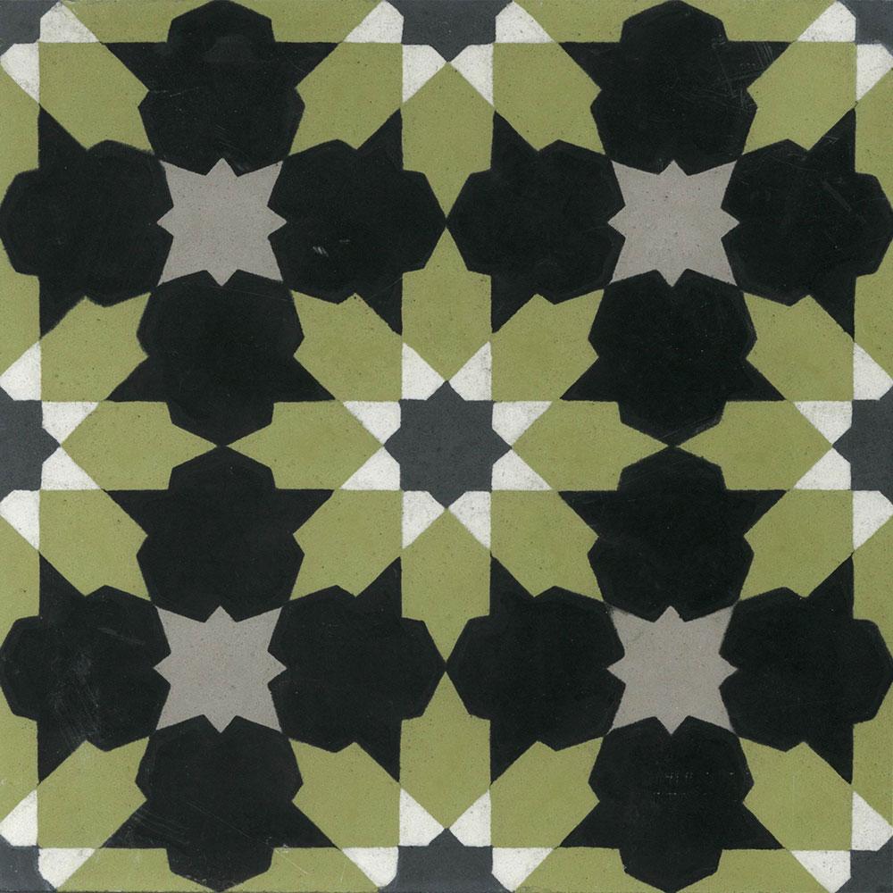 malta 8x8 encaustic cement tile