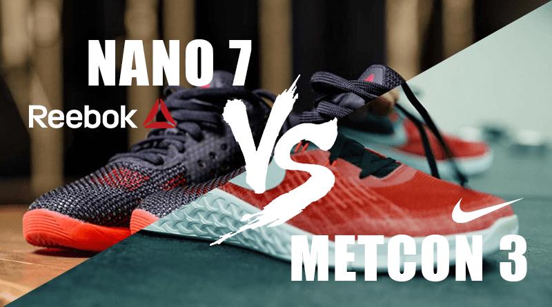 nike metcon 3 vs reebok nano 7 recensione scarpe crossfit