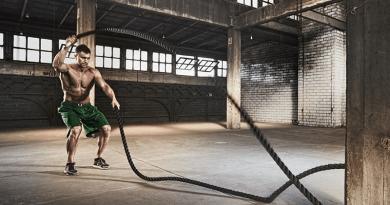 esercizi battle rope