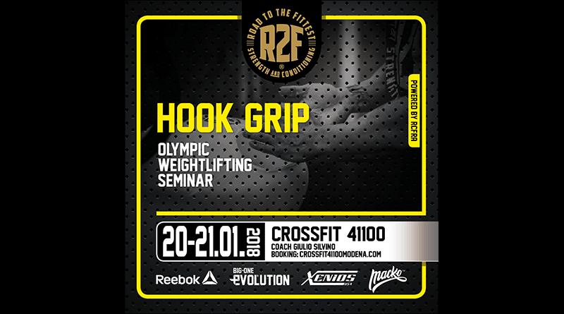 Workshop di weightlifting Hook Grip