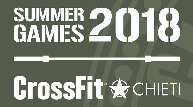 summer games crossfit chieti 2018