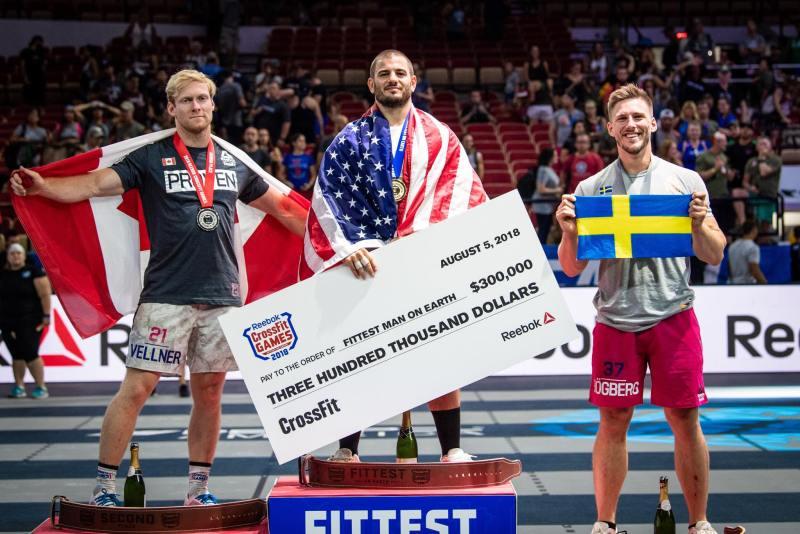 crossfit games 2018 vincitori uomini