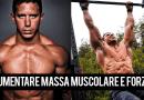 Aumentare massa muscolare e forza nel CrossFit