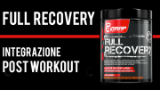 Full Recovery Amrap | Guida all'integrazione post workout