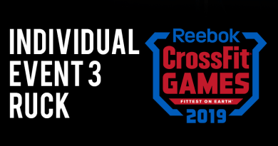 Evento 3 CrossFit Games