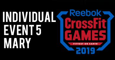 evento 5 crossfit games