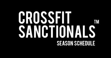 Calendario eventi CrossFit Sanctionals