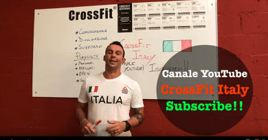 Canale YouTube CrossFit Italia