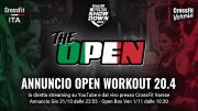 Presentazione Open Workout 20.4 | Live da CrossFit Varese