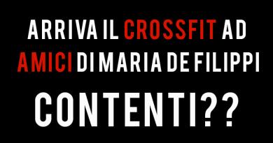 Maria de filippi CrossFit