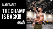 Mat Fraser distruggere il record dei CrossFit Games durante The Standard.