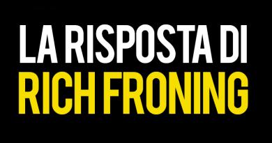 Rich Froning risponde al tweet di Glassman