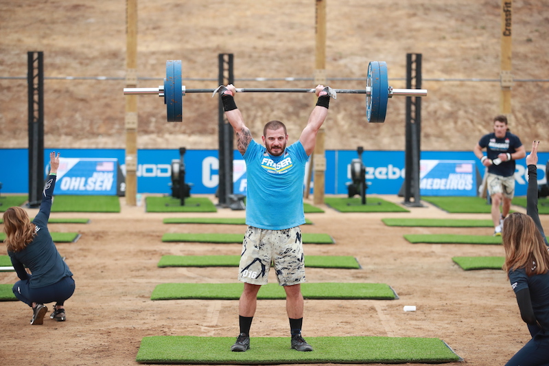 Photo by Michael Valentin/CrossFit Games