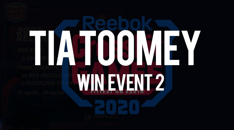 Tia Toomey vince l'evento n 2 dei crossfit games
