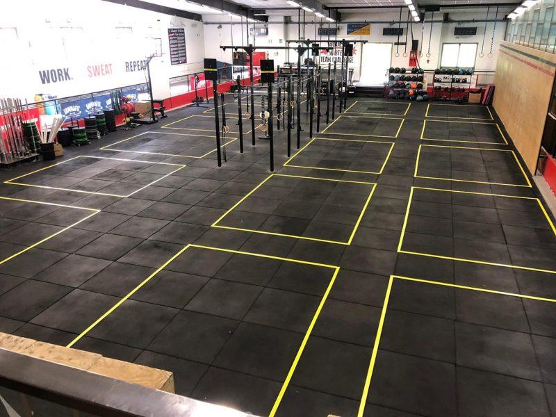 distanziamento box di CrossFit covid