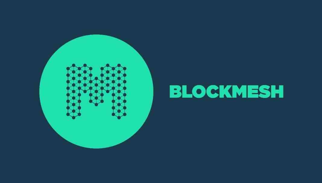 Logo of the ICO known as BlockMesh