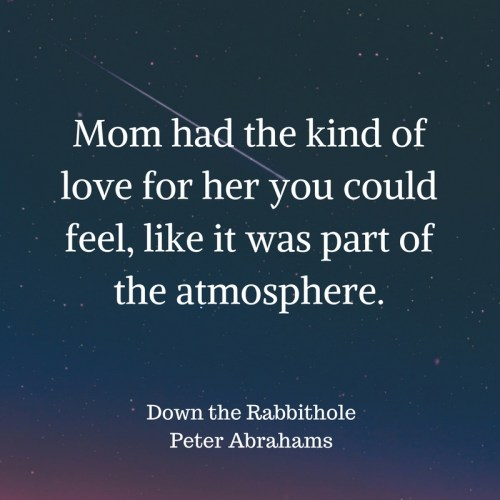 down the rabbithole quote