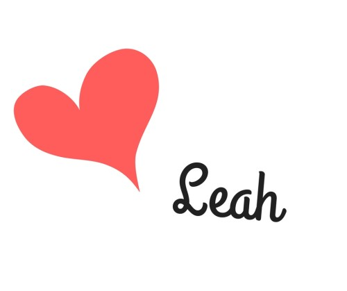 love Leah