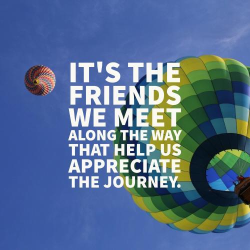 friends we meet
