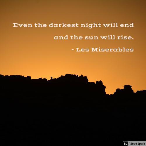 light during dark times