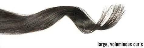 voluminous curl