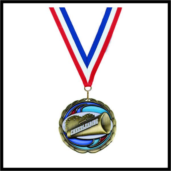 "Cheerleading Medal (CEM) - 2-1/2"""