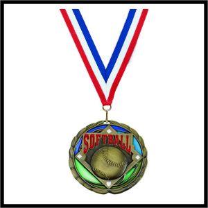 "Softball Medal (CEM) - 2-1/2"""