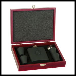 Flask Gift Set - black