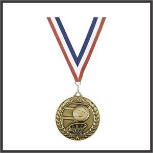 "Basketball Medal (WAM) - 3"""