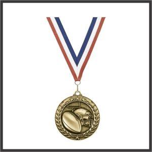 "Football Medal (WAM) - 3"""