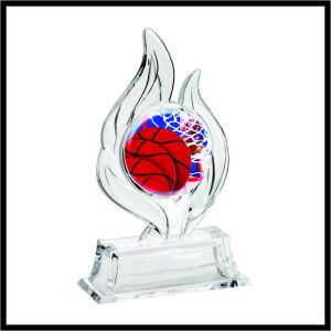 basketball krystal flame award