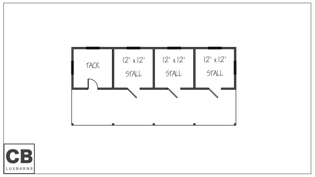 Wellington Floor Plan 52'