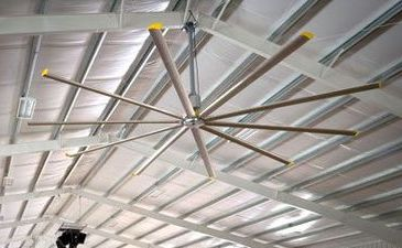 Fan for Riding Arena