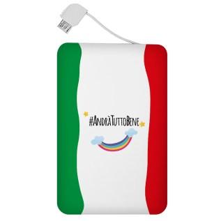 """Powercard collezione """"Bandiera arcobaleno_1"""""""