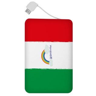 """Powercard collezione """"Bandiera arcobaleno_2"""""""