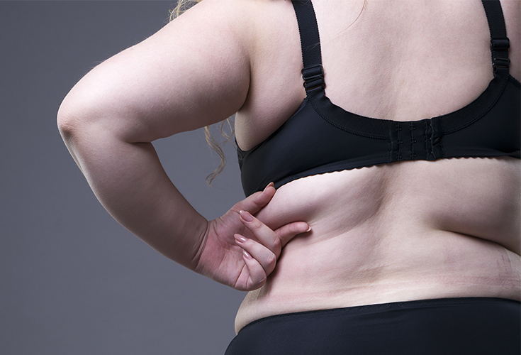Say goodbye to that annoying bra bulge with these topexercises for back fat which combine into the ultimate back fat workout!