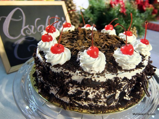 Black Forest Gateau by Osvaldo's Cake at the Davao Gourmet Collective Festive Food Holiday Market