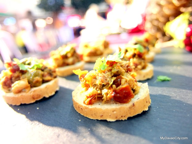 The Crazy Cook Tinapa Tapenade at the Davao Gourmet Collective Festive Food Holiday Market