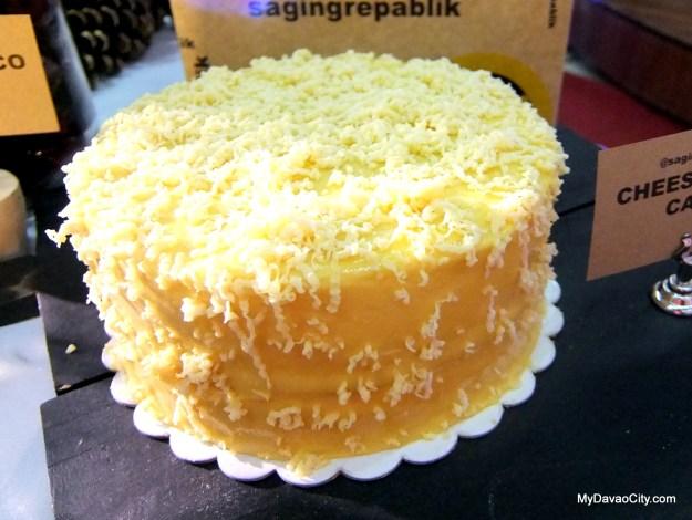 Saging Repablik Cheesy Yema Cake at the Davao Gourmet Collective Festive Food Holiday Market