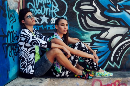 Flossy SPECIAL PRINTS 2215 Monda Black and Adra Yellow for Men and Women P2,490