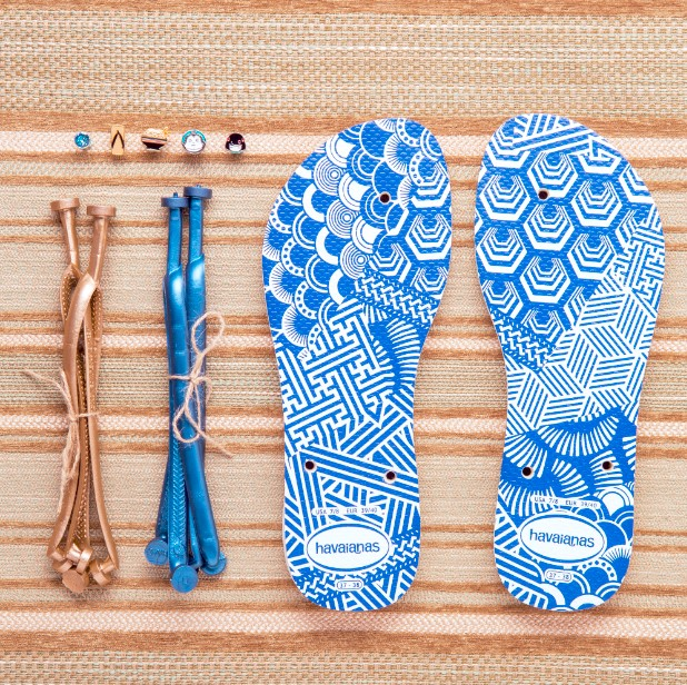 Make Your Own Havainas 2016 Shibori Sole