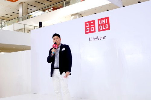 Uniqlo Philippines CEO Katsumi Kubota at the Uniqlo VIP Event. Photo by Sai Dayanghirang.