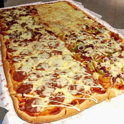 Four Seasons Pizza - Bacon and Cheese, Pepperoni, Supreme, and 4 Cheese - RBG Xtreme Meal by Park Inn Davao