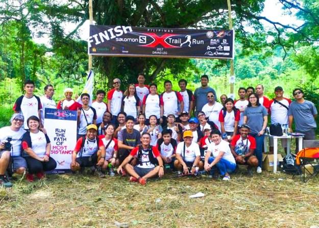 Salomon X Trail Davao Participants
