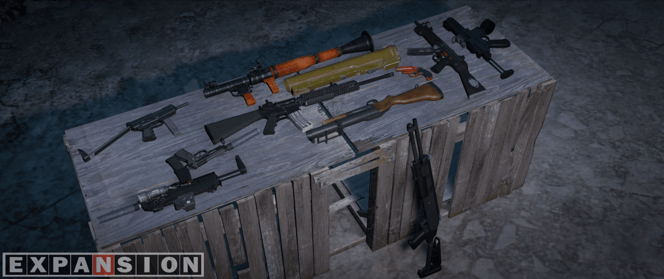 Dayz Expansion Weapons