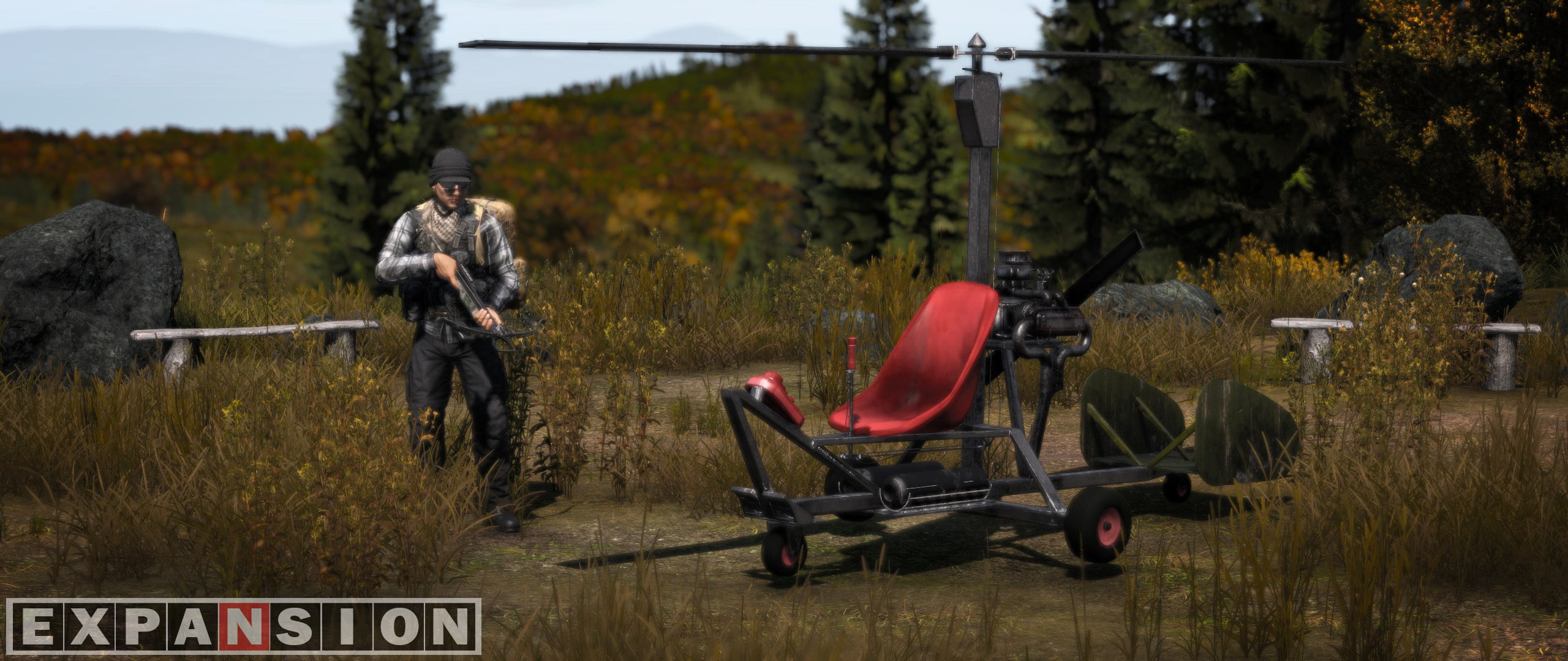 Dayz Expansion mini Helicopter